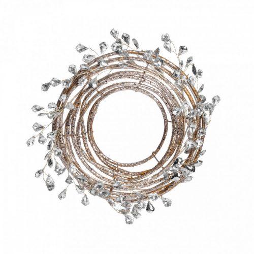 Koszorú Gold-Crystals 25cm