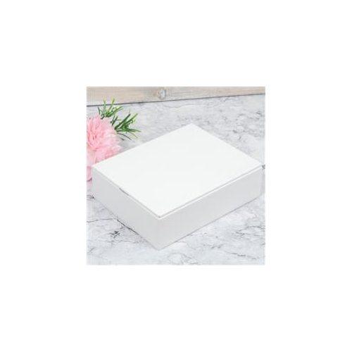 Ékszerdoboz Leatherette fehér