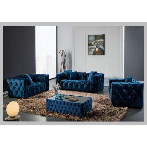 Kanapé Metropolitan kék 3 személyes