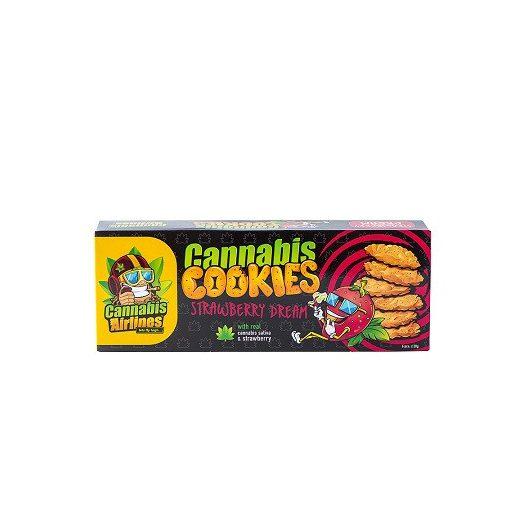 Cannabis Keksz epres 120g