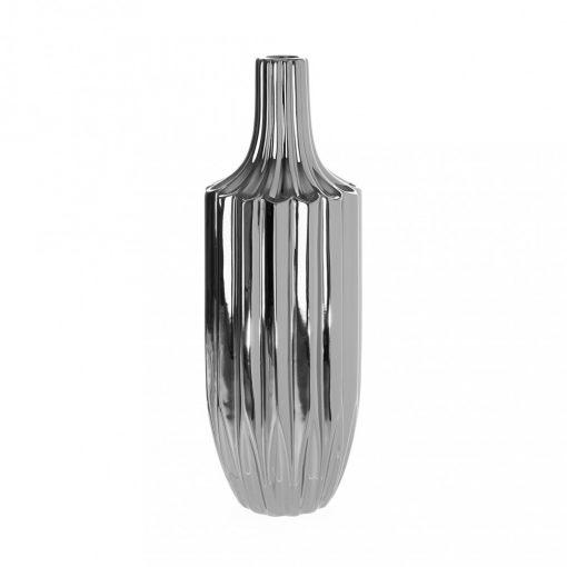 Váza Elegance ezüst 41,5cm