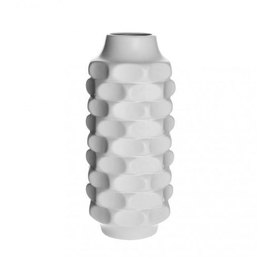 Váza Twist fehér 38cm
