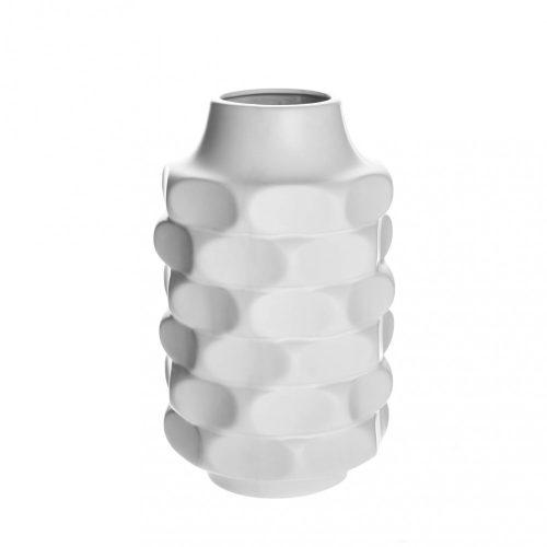 Váza Twist fehér 25cm