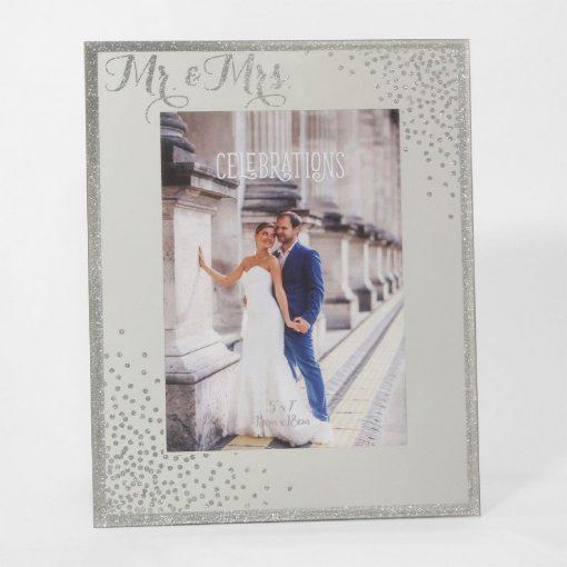 Képkeret Mr&Mrs Sparkle 13*18cm