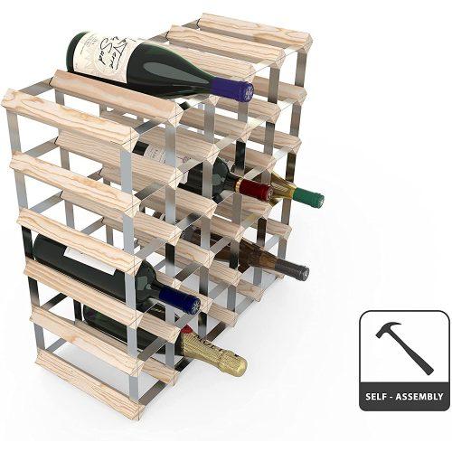 Borállvány 30db borhoz