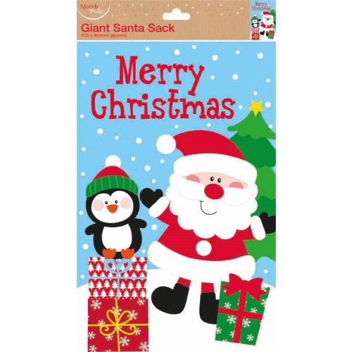 Óriás ajándékzsák Santa