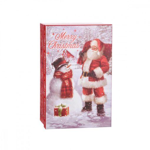 Ajándékdoboz Merry Christmas 10.