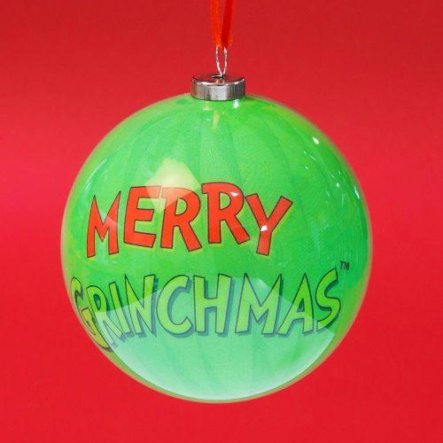 Grinch karácsonyfadísz 7.5cm