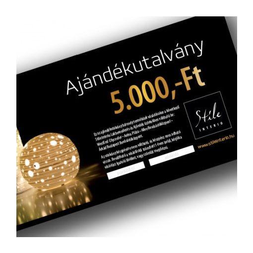 Ajándék Utalvány 5.000 Ft