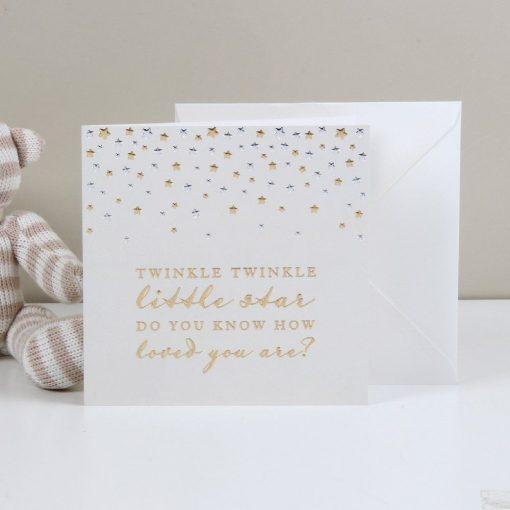 Ajándékkártya Twinkle twinkle