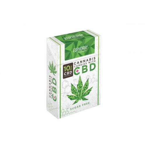 EUPHORIA cannabis cukorkák 10mg CBD-vel