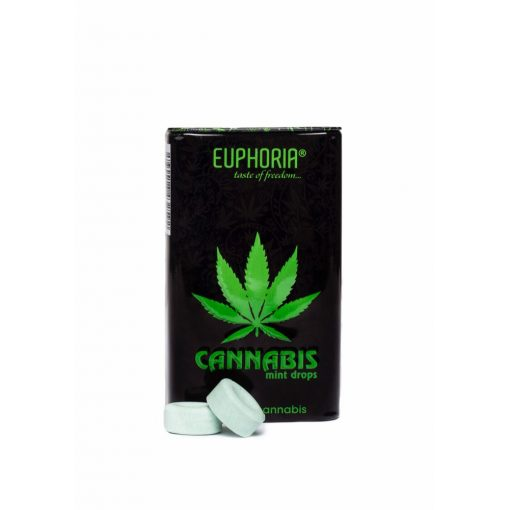 EUPHORIA cannabis mentolos cukorkák