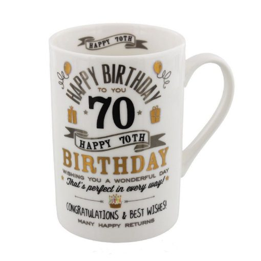 Bögre 70.születésnapra