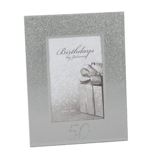 Képkeret Glitter 50.születésnapra