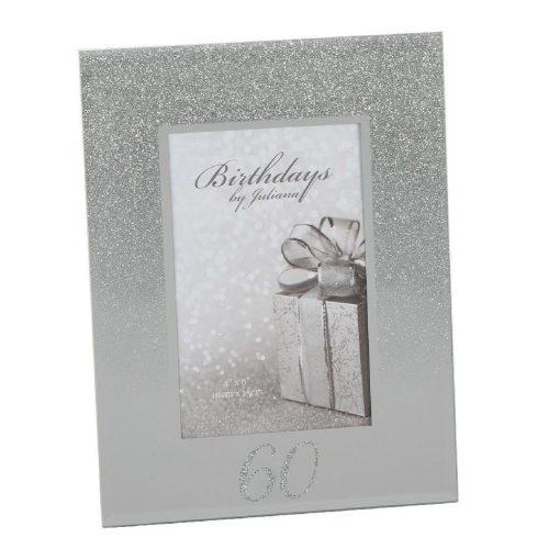 Képkeret Glitter 60.születésnapra