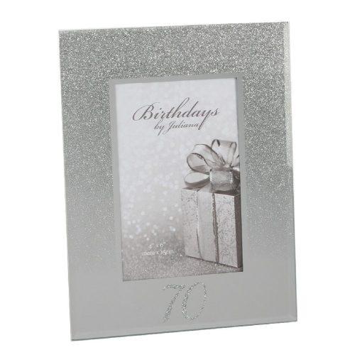 Képkeret Glitter 70.születésnapra