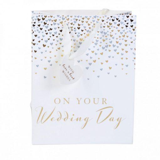 Ajándéktáska On your wedding day L