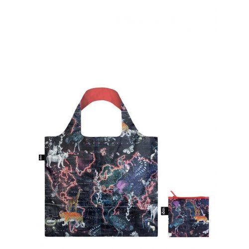 Bevásárló táska Loqi Világtérkép