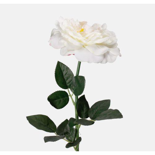 Dekorációs rózsa szál  krém