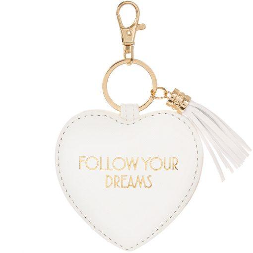 Kulcstartó Follow your dreams