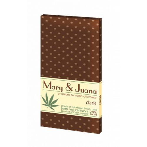 MARY & JUANA cannabis étcsokoládé