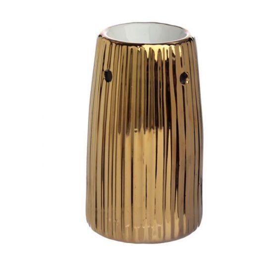 Illóolaj párologtató Metallic arany