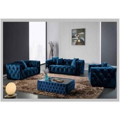 Fotel Metropolitan kék