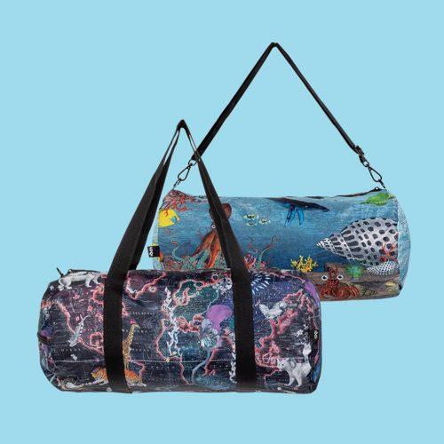 Utazó táska Loqi Nagy korallzátony& világtérkép