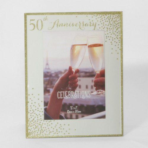 Képkeret Sparkle 50.évfordulóra