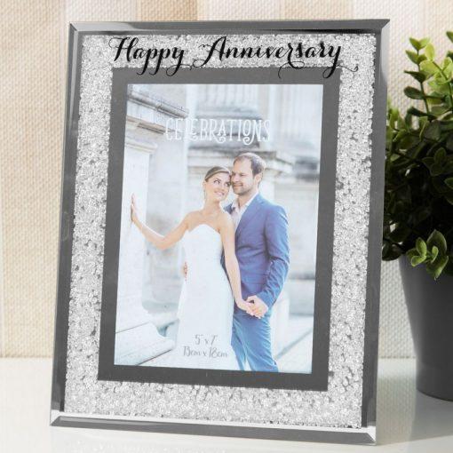 Képkeret 'Happy Anniversary' 10*15cm