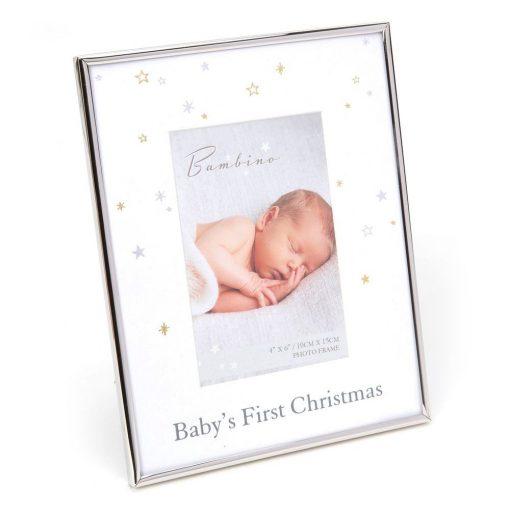 Képkeret Baby's first christmas